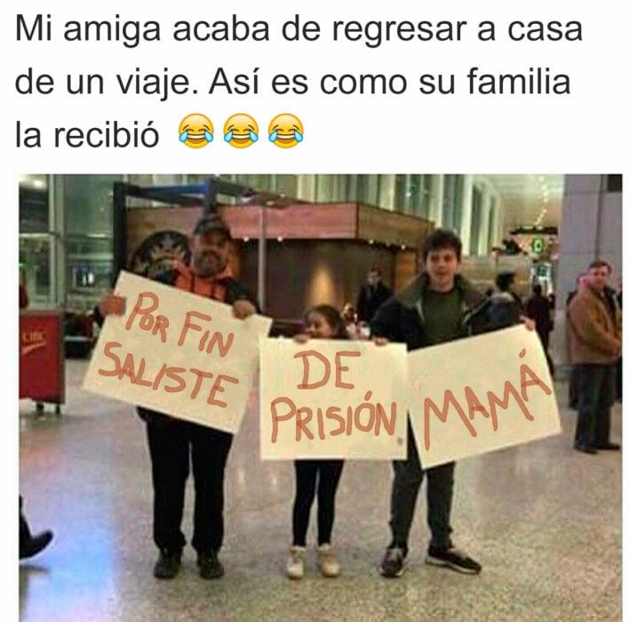 Familias troleras - saliste de prisión