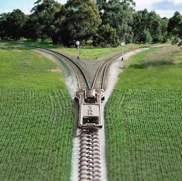 Fotomontajes - trenes cremallera