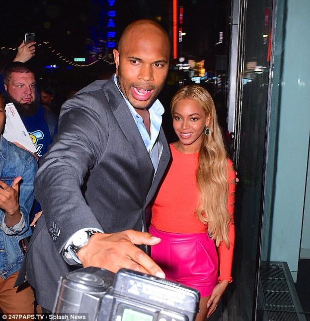 Guardaespaldas Beyoncé