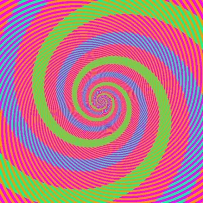 ¿vez el espiral color azul?