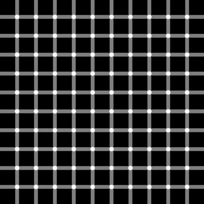 no existen puntos blancos ni negros