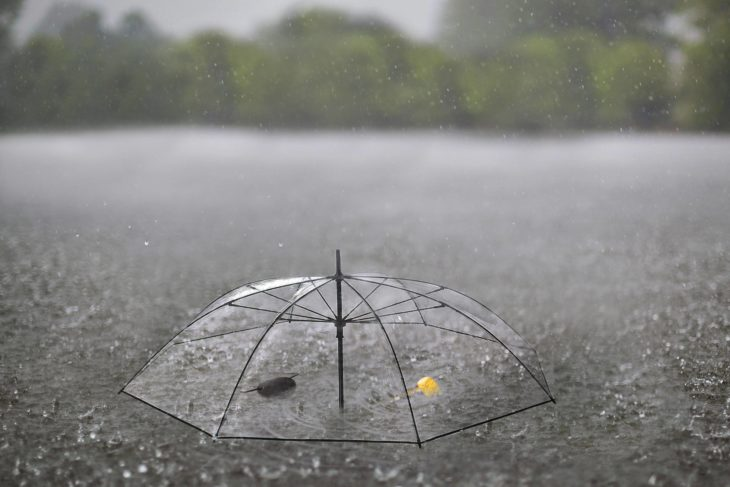 pirata hundido paraguas