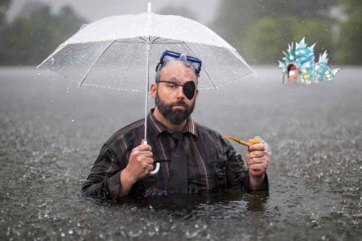 pokemón lluvia