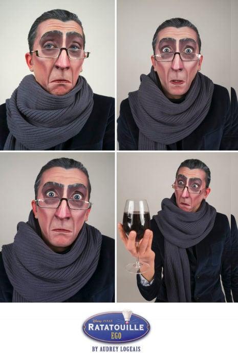 raratouille villano maquillaje