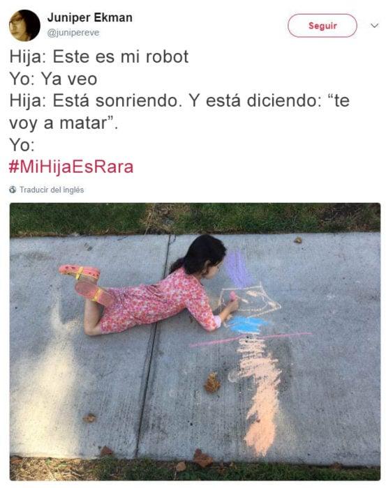 Tuits niños raros - robot asesino
