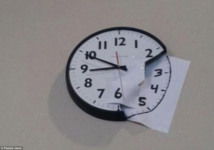 Reloj roto