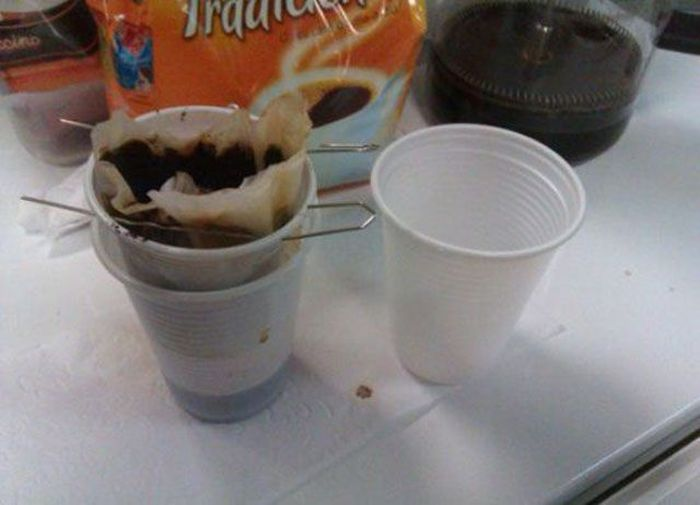 Reutilizando el café