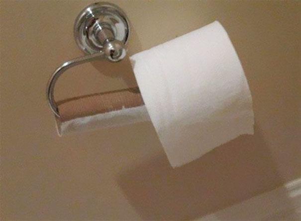 papel de baño nuevo