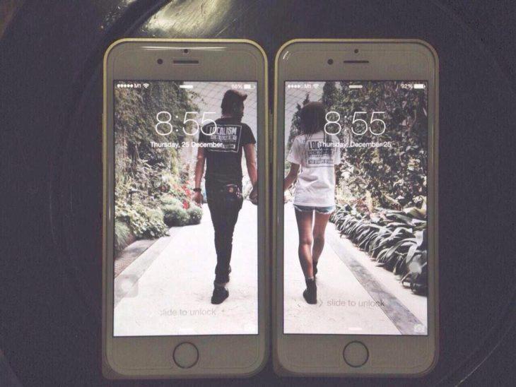 Relationship goals - celulares coordinados