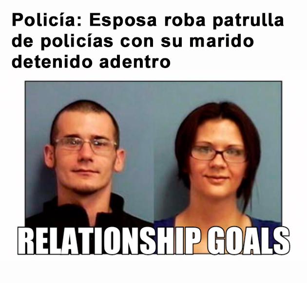 Relationship goals - roba patrulla por su marido