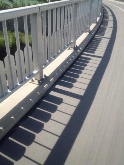 Barandal sobra piano