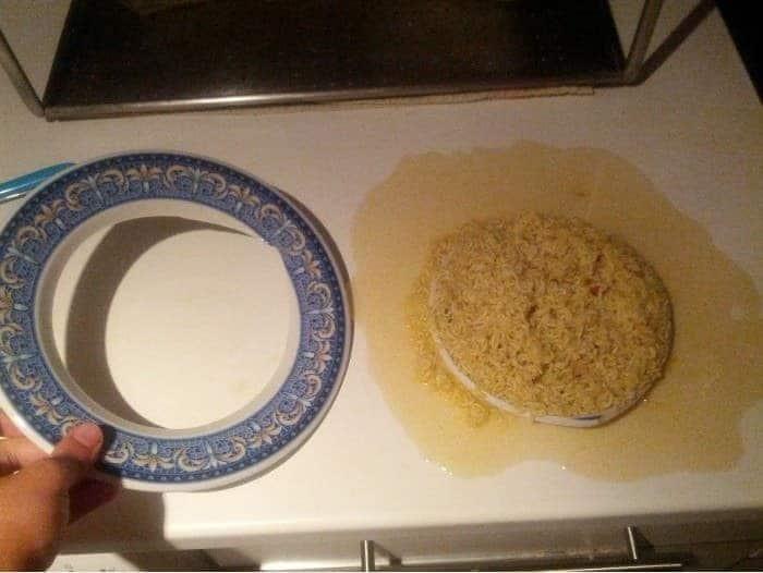 plato roto