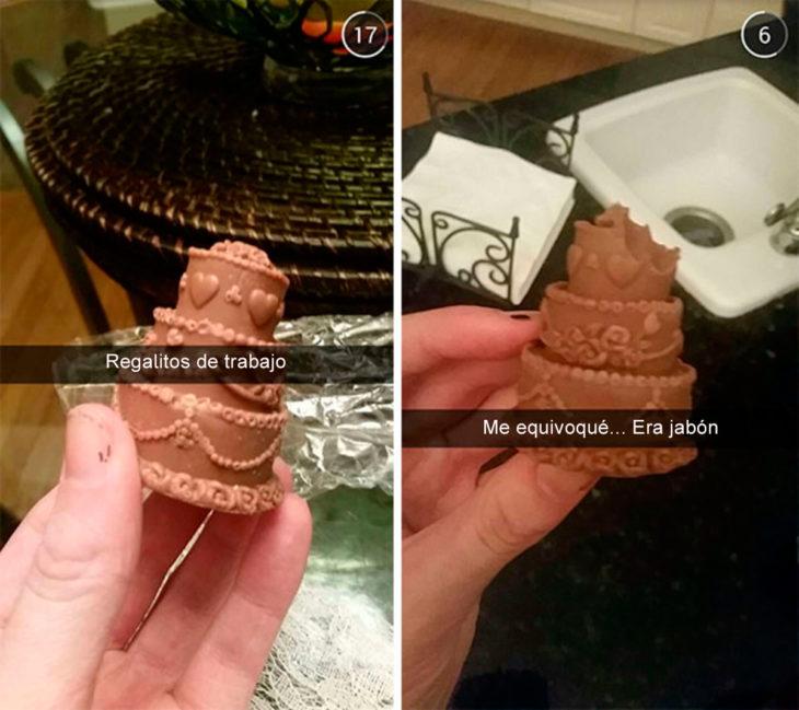 pastelito era jabón