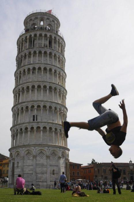 Doble voltereta de Pisa