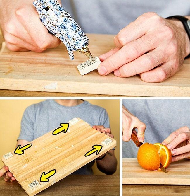 tabla naranja diy truco manos