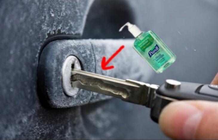 cerradura llave truco