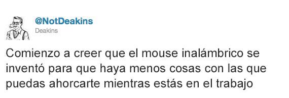 Tuits graciosos - mouse inalámbrico