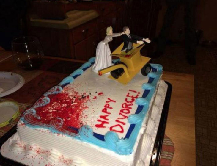 pastel de divorcio