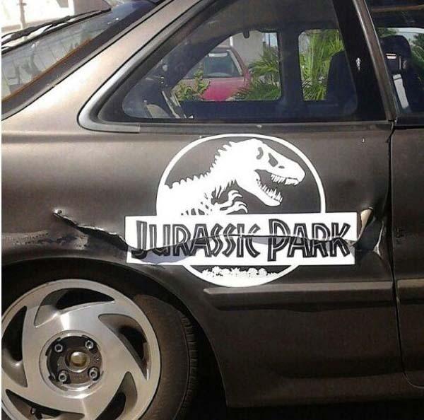 jurassic park carro
