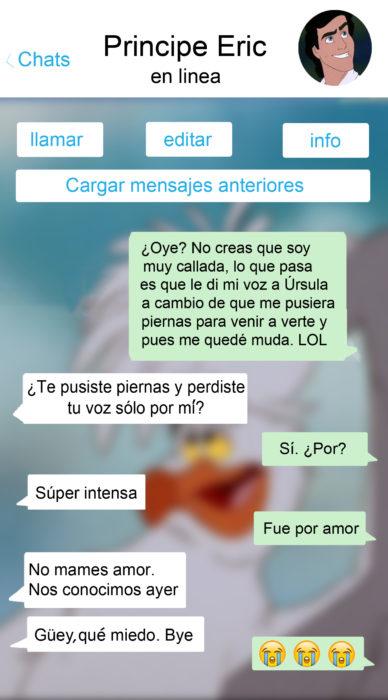 whatsapp ariel y eric