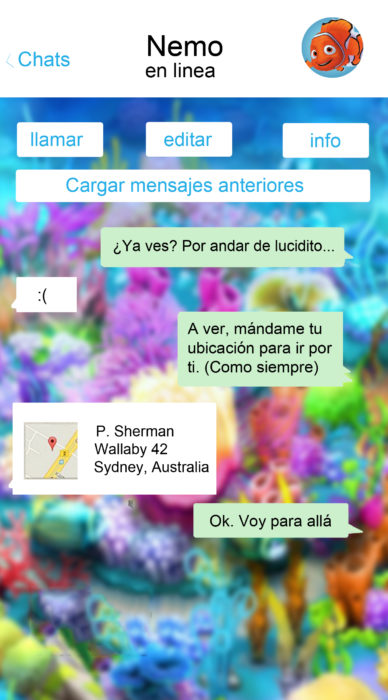 whatsapp nemo