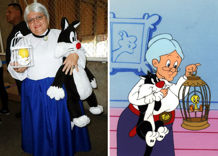 Abuelita Looney Tunes