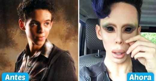 Cover Quiere convertirse en alien, sin importar lo que cueste y duela