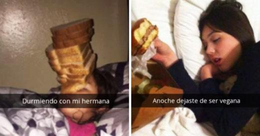 Cover Las 15 bromas más divertidas entre hermanos captadas en Snapchat