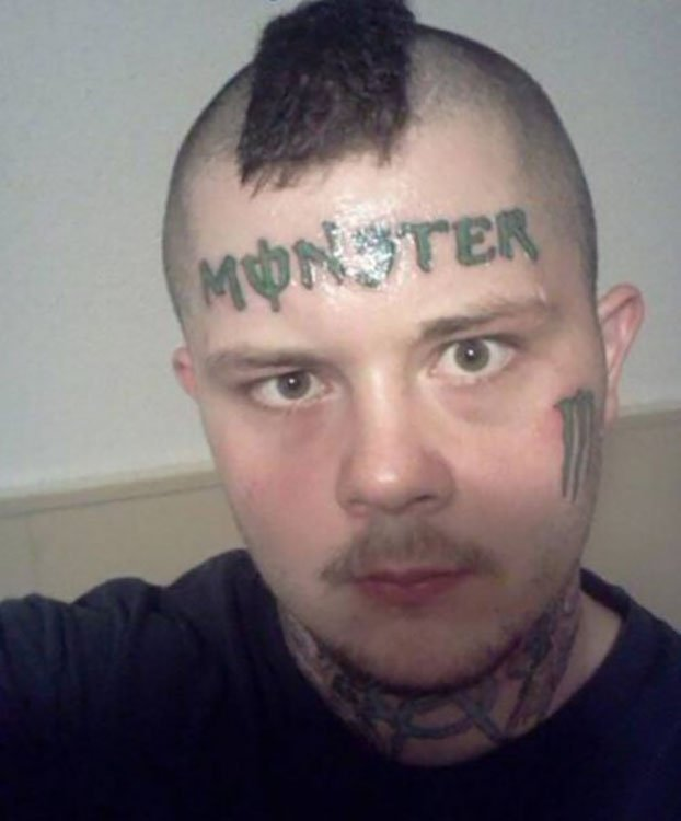 Tatuajes Malos En La Cara Que No Son Posibles De Ocultar