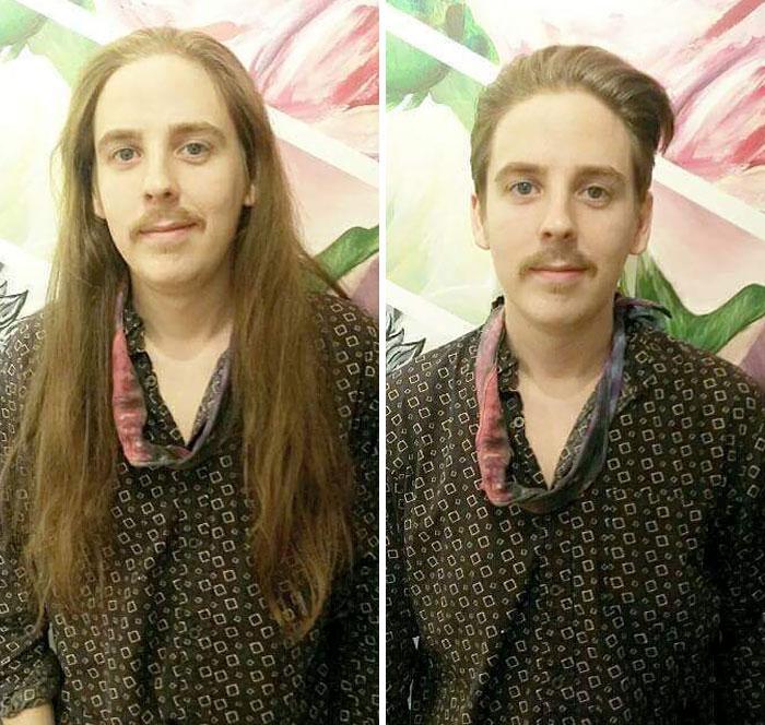 corte de cabello hombreCambio de look corte extremo