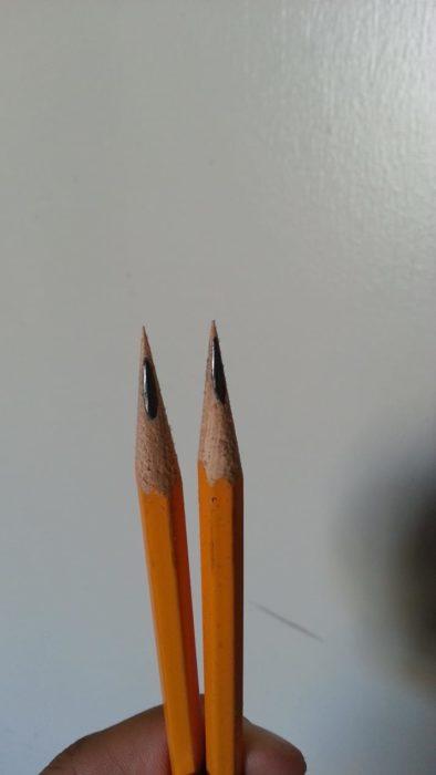 sacarle punta al lápiz