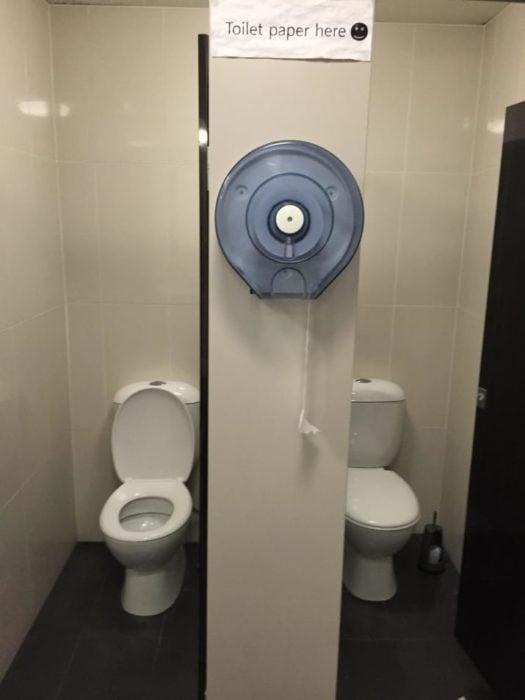 papel higiénico no a tu alcance