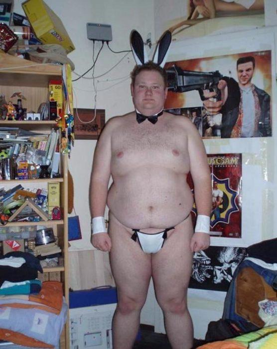 un sexy conejito de play boy