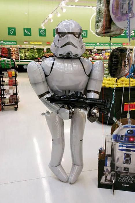 Globo de Stortrooper con forma extraña