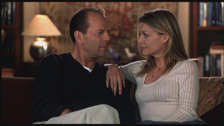 Bruce Willis y Michell Pfifer en la película nuestro amor