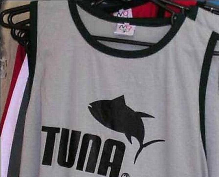 Playera de imitación de marca Puma