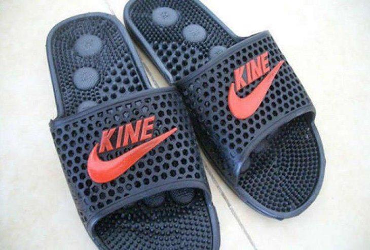 Sandalias de imitación a la marca Nike