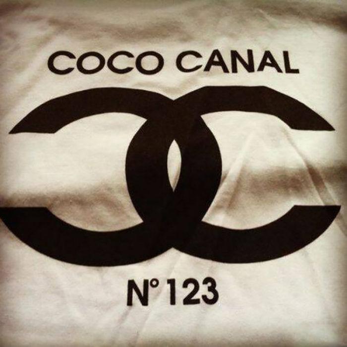 Playera imitación de Coco Chanel