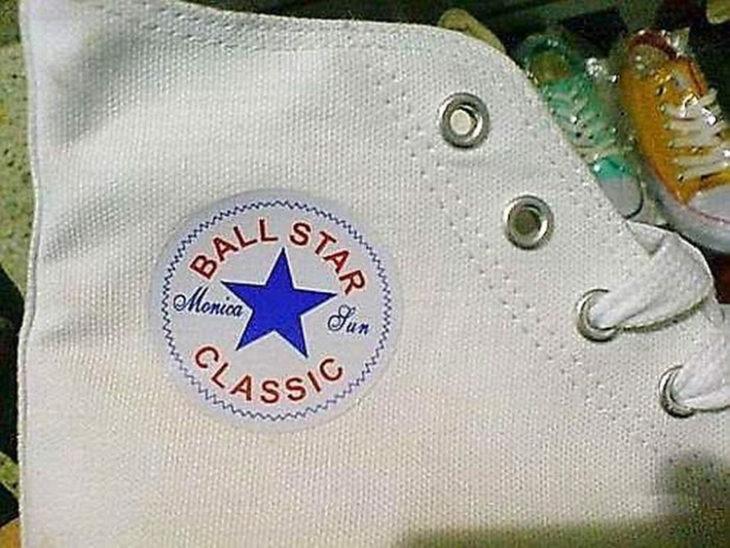 ball star la nueva imitación de los Converse