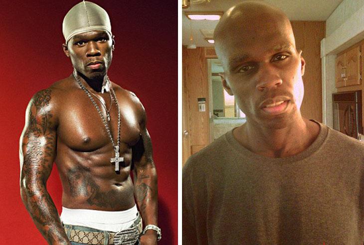 Así lucen en la actualidad tus ídolos musicales del 2000  50 Cent 2017