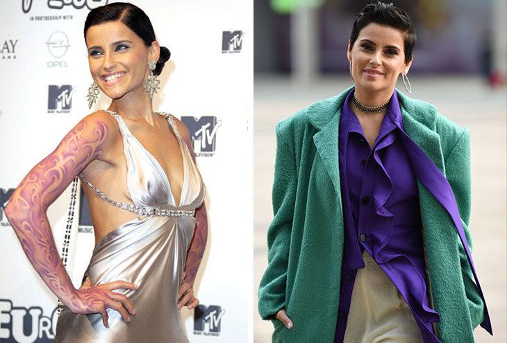 Celebridades en el 2010 y ahora. El cambio es impresionante