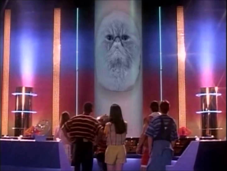zordon gato power rangers