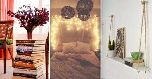 Cover ideas para decorar nuestro hogar sin dejarnos el sueldo en ello