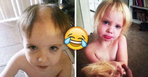 Cover Niños que decidieron cortarse ellos mismos el pelo y luego lo lamentaron