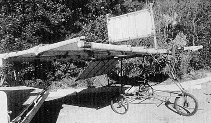 monoplano diseñado por Richard Pearse