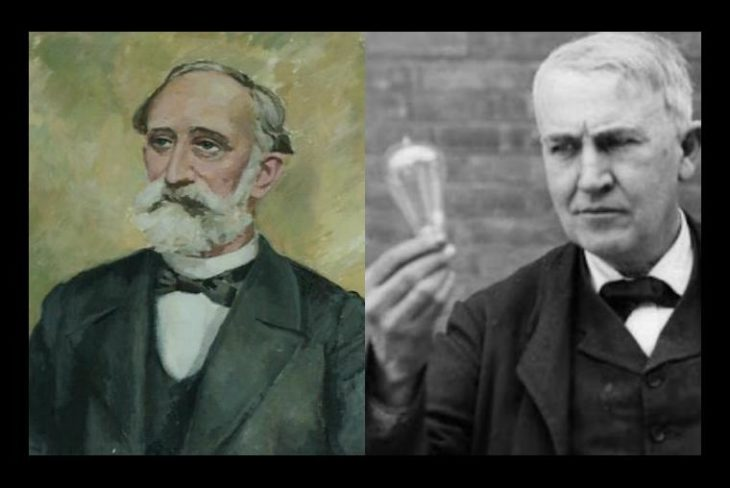 Henry Göebel quien disputo con Thomas Alva Edison la patente de la bombilla