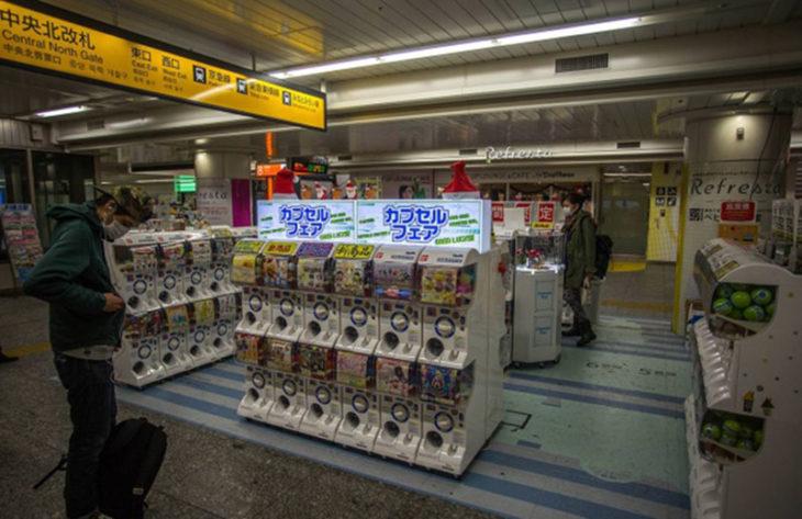 tiendas automáticas japón