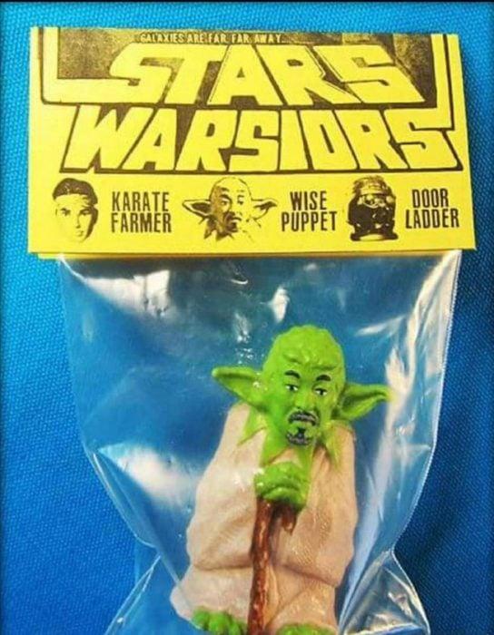 Pobre maestro Yoda