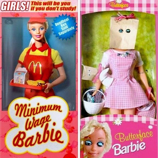 La belleza de barbie es sin igual