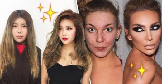 Cover Transformaciones antes y después del maquillaje que te asombrarán
